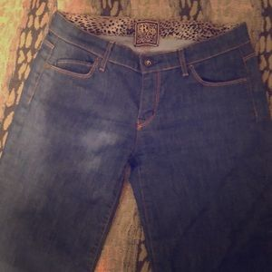 Rich and Skinny wide bottom jeans